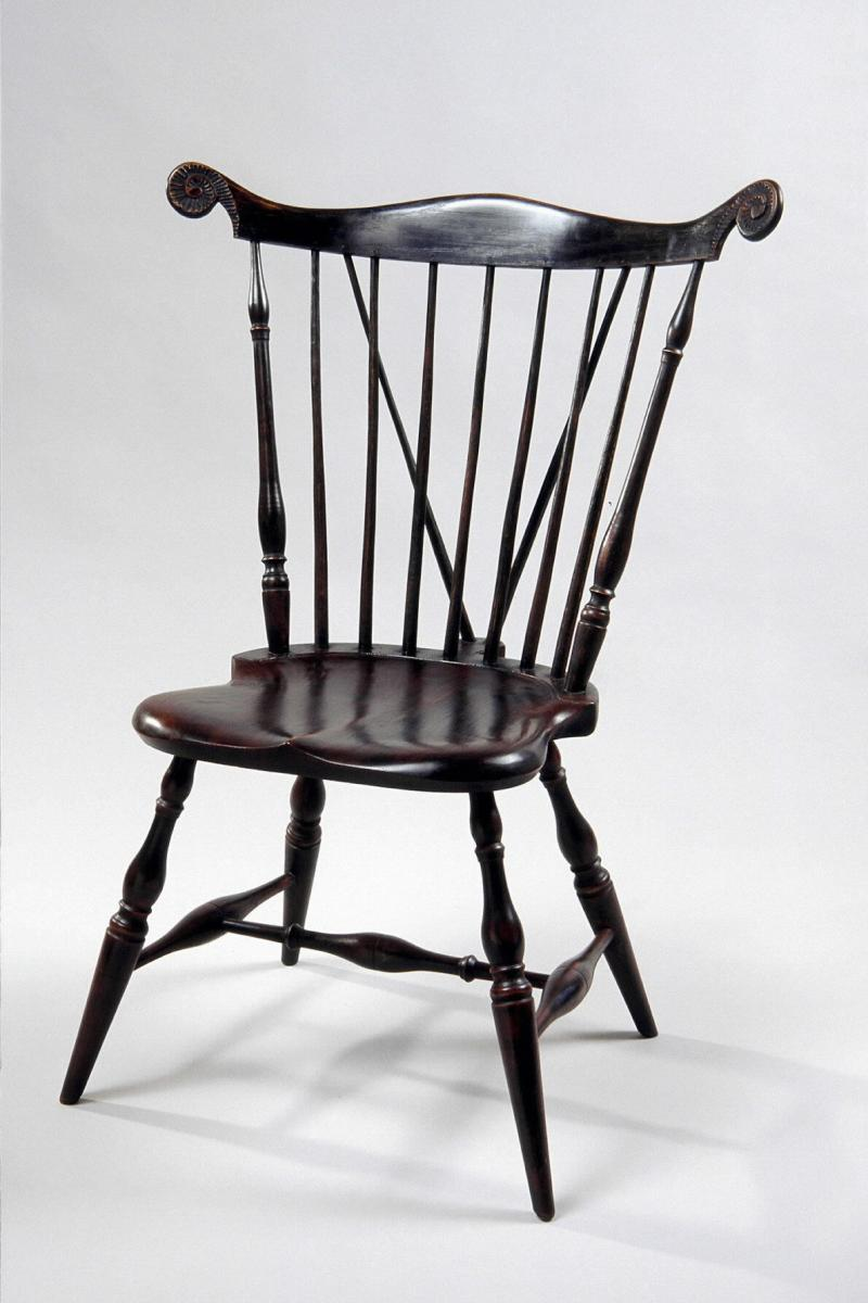 Boston Fan Back Side Chair